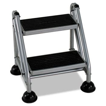 Cosco Rolling Commercial Step Stool by Rolling Commercial Step Stool By Cosco 174 Csc11824ggb1