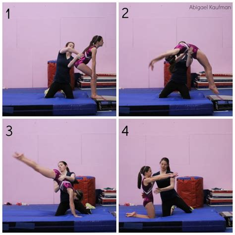 gymnastics back layout drills 118 best how do we teach it tumbling images on