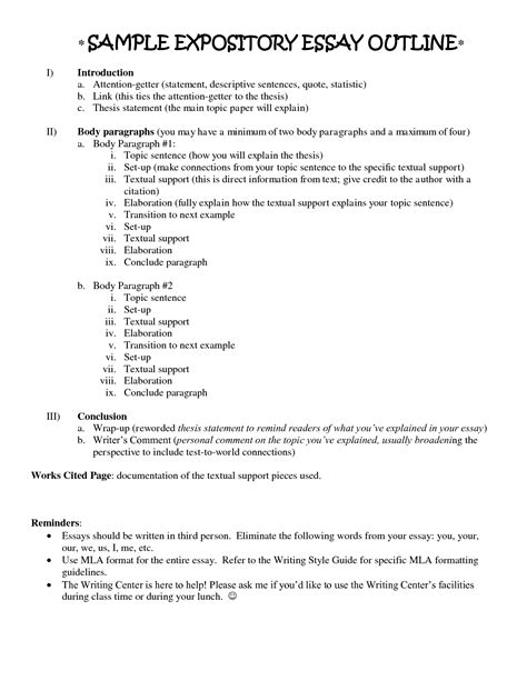 Outline Descriptive Essay by Essays Descriptive Paragraph
