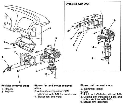 auto air conditioning repair 2005 mitsubishi diamante electronic valve repair guides blower motor removal installation