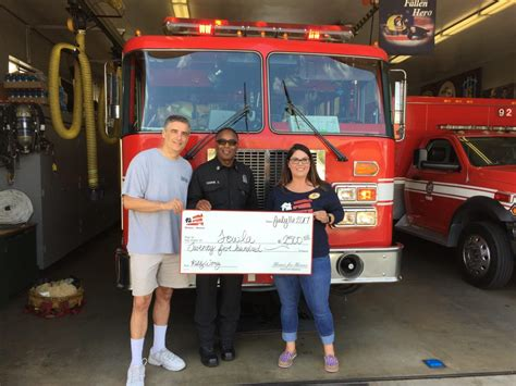 homes for heroes foundation donates to fallen firefighter