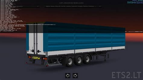 blue trailer standalone krone blue trailer fixed by solaris36 ets 2 mods