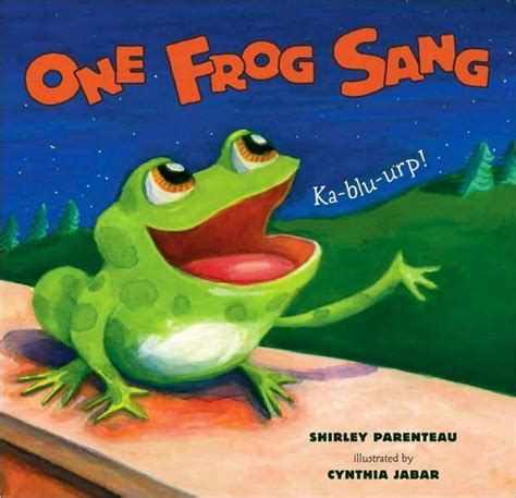 frog picture books picture book friday one frog sang