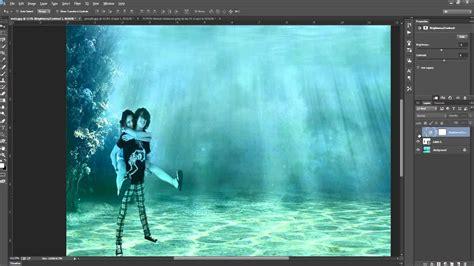 tutorial photoshop underwater photoshop cc underwater tutorial youtube