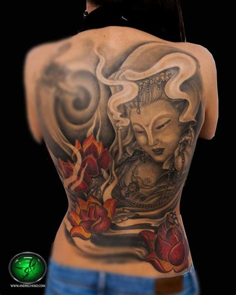 female back piece tattoo designs the map