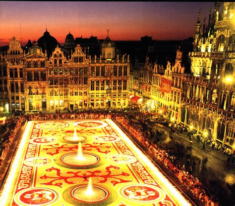 And The Place For Planners Grand Place Bruxelles