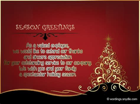 christmas messages  employees wordings  messages