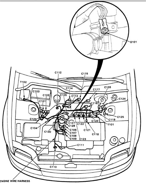 92 civic d15 engine harness diagram honda tech