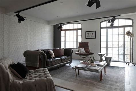 industrial style in a small apartment in london interior industrial london loft apartment by olivier burns