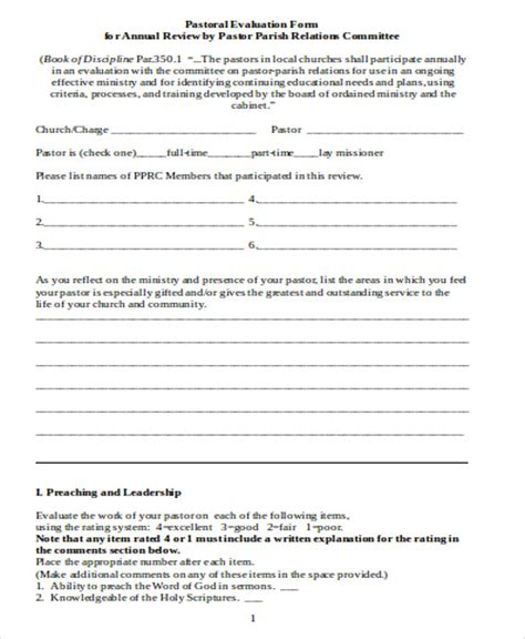 conference evaluation form in word leadership evaluation form redeemer college