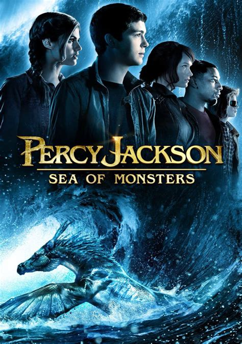 Poster Novel The And The Sea 40x60cm percy jackson the olympians the sea of monsters