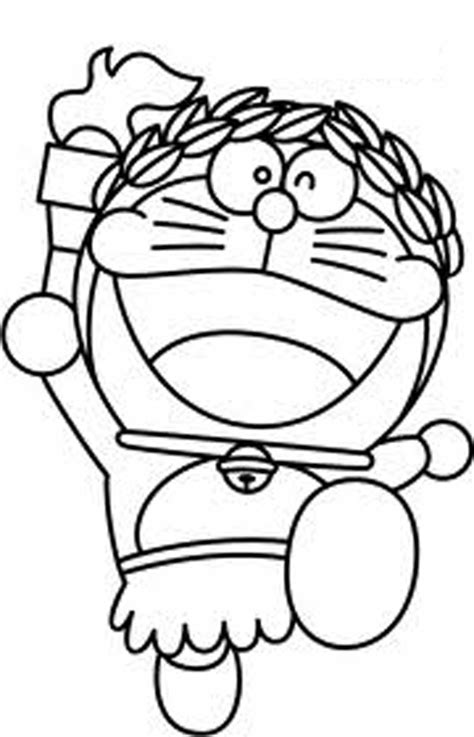 animated cartoon doraemon coloring pages for kids
