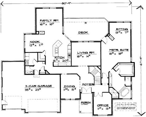 5 bedroom house floor plans 5432 square feet 5 bedrooms 3 189 batrooms 3 parking space