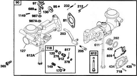 briggs and stratton 3 5 hp carburetor diagram briggs and stratton engine problems doityourself