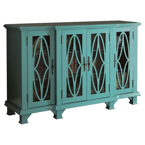 Teal Credenza teal sideboard for the home