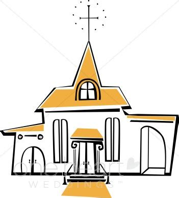 Wedding Chapel Clipart by Chapel Clipart