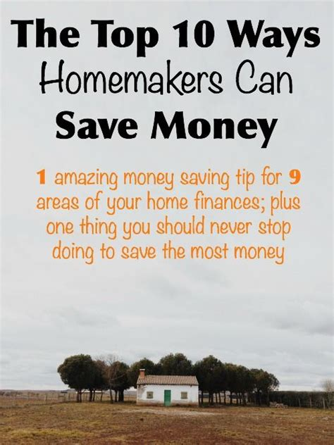 Ways To Save Your Pennies by The Top 10 Ways Homemakers Can Save Money Money Saving