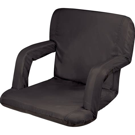 Recliner Seats by Picnic Time Ventura Recliner Seat Black 618 00 179 000 0 B H