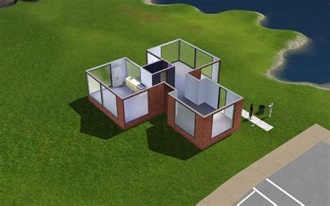 Sims House Building by Prison Architect The Of Every Sim Play The Past