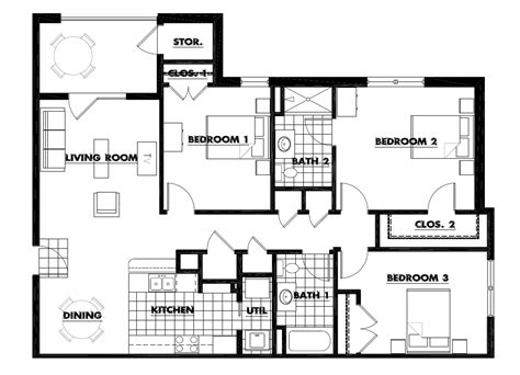 apartments floor plans 3 bedrooms pics photos luxury cabin kitchen modern 7 log home