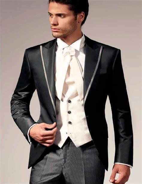 2017 Italian Wedding Suits For Men Jacket Pant  Vest Prom