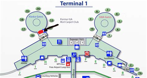 san jose airport terminal map southwest alaska airlines needs to open a board room in san diego