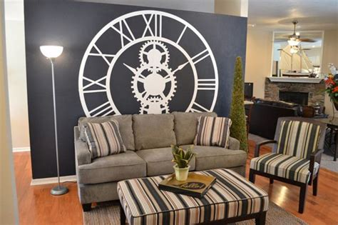 clock in living room living room wall clocks 5 living room ideas