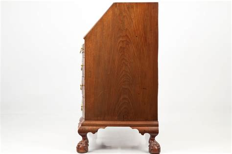 chippendale möbel american chippendale oxbow desk on and claw