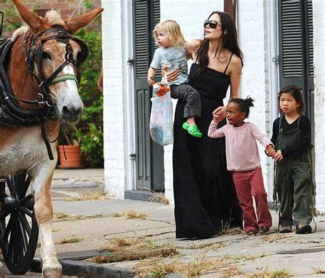 imagenes de la familia jolie pitt el look de la familia jolie pitt noticias hola com