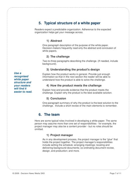 how to write a white paper format how to write a white paper