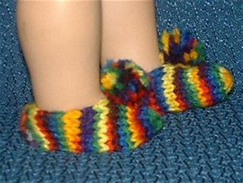 knitting pattern doll socks american girl doll slippers socks free knit pattern doll