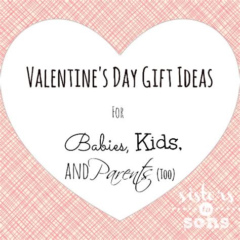 s day gift ideas for babies and parents