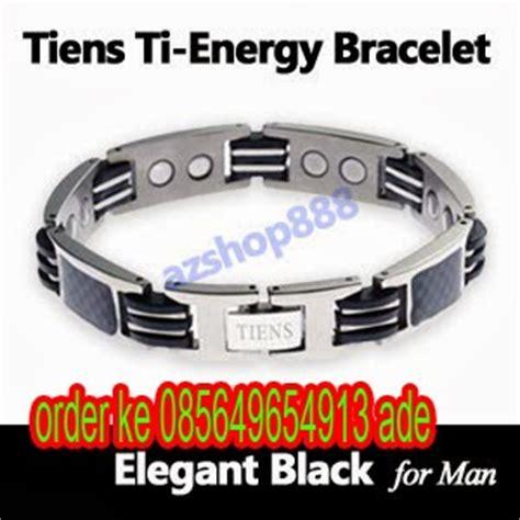 Gelang Kesehatan Pria Tiens Ti Energy Bracelet Black 2 pengobatan herbal tienshi indonesia daftar harga gelang ti bracelet energy gelang tiens new