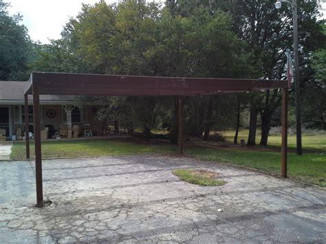Free Standing Metal Carport Free Standing All Metal Carport Karnes County