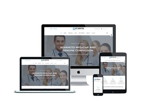 joomla theme generator online at hospital free medical hospital joomla template
