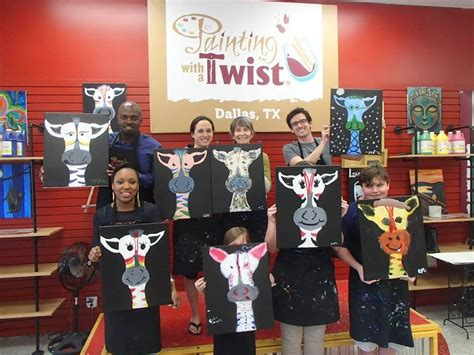paint and twist dallas painting with a twist dallas tx localdatabase