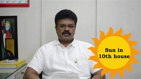 sun in 10th house bhrigu sutram sun in 10th house youtube