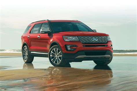 2017 Ford Explorer by 2017 Ford 174 Explorer Suv Features Ford