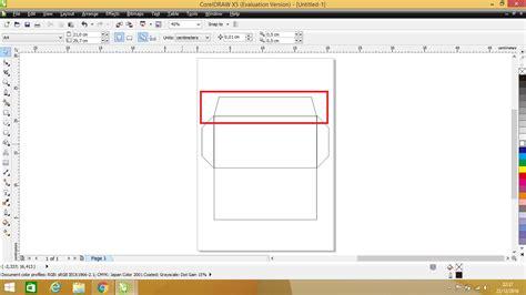 langkah membuat surat undangan dengan corel draw membuat amplop menggunakan coreldraw kuas