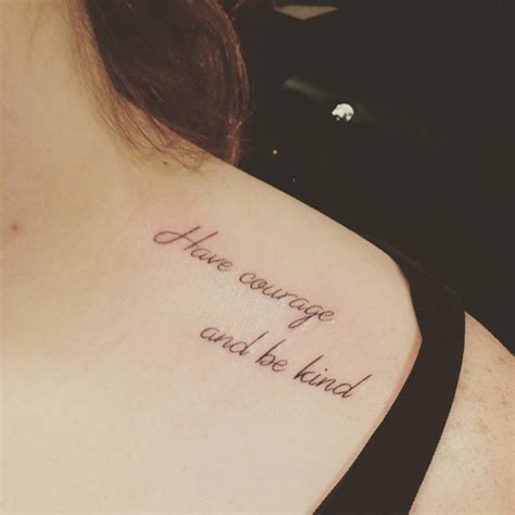 be kind tattoo 28 beautiful clavicle tattoos for