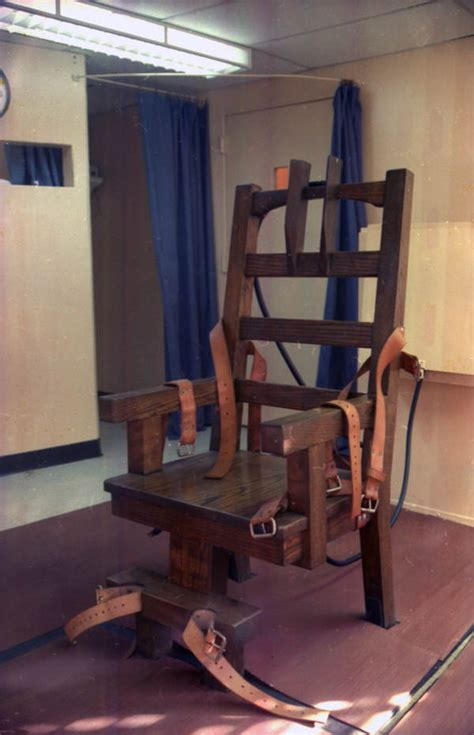 Florida Electric Chair Pictures by Florida Memory Electric Chair At Florida State Prison In