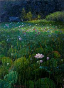 Lotus Garden Tucson Az by Griffin Woods Landscapes