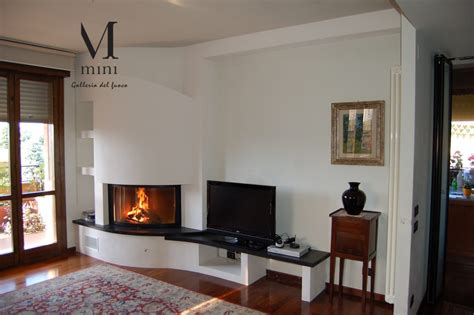 camino ad angolo moderno camino design moderno wood fireplace contemporary closed