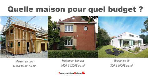 Faire Construire Sa Maison Prix 2688 by Prix Pour Faire Construire Une Maison En Bretagne With