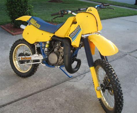 1985 Suzuki Rm 250 1985 Suzuki Rm250 Va Floater Suzuki Rm Vintage