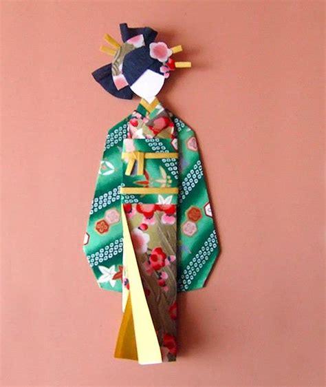 Origami Japanese Doll - las 25 mejores ideas sobre papel de origami en y