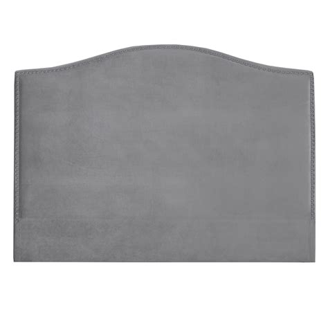 Grey Velvet Headboard by Grey Velvet Headboard Xcella