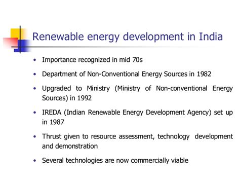 Mba In Renewable Energy Management In India by Cdm Potential Of Renewable Energy Technologies In India