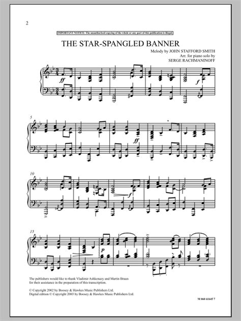 printable star spangled banner sheet music the star spangled banner sheet music direct