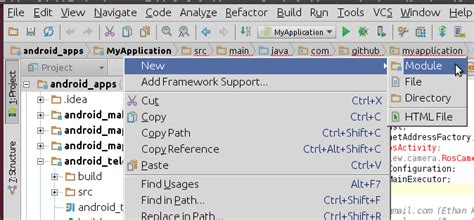 android studio module tutorial applicationsplatform clients android tutorials getting